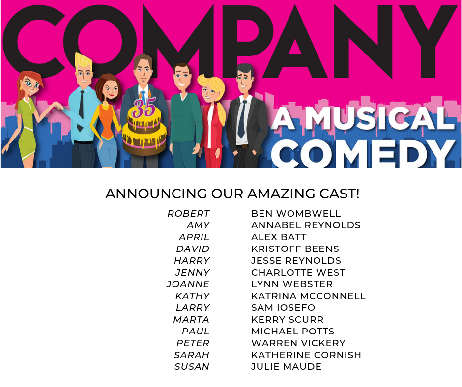 Company Cast Announcement!