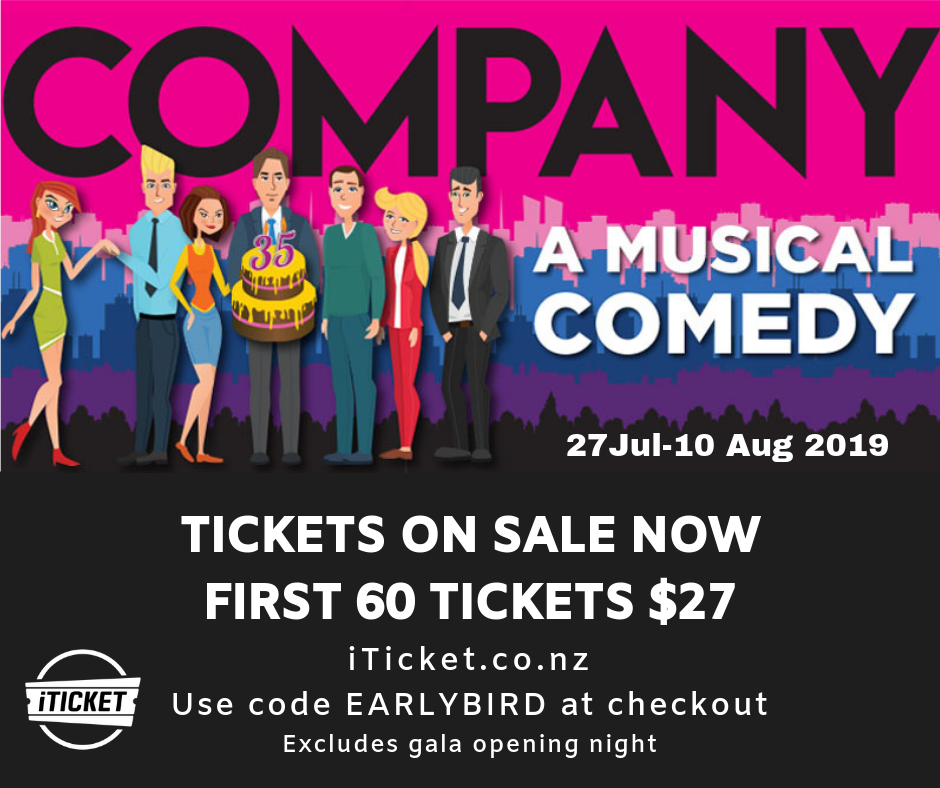 Company tickets on sale now!