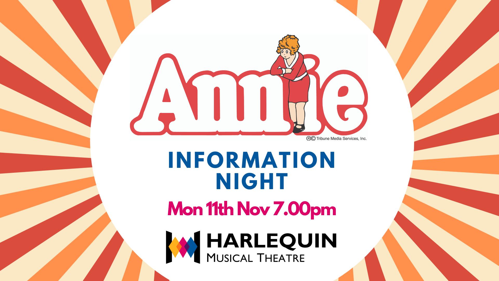 Annie Information Evening