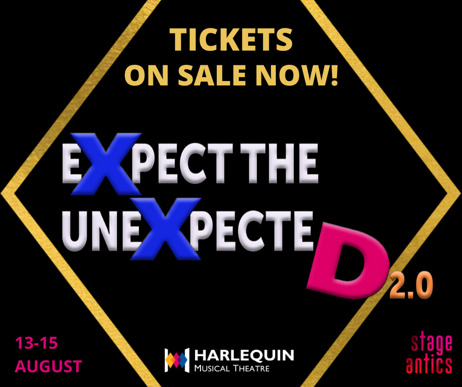 Expect the Unexpected 2.0 – Tickets on Sale Now!